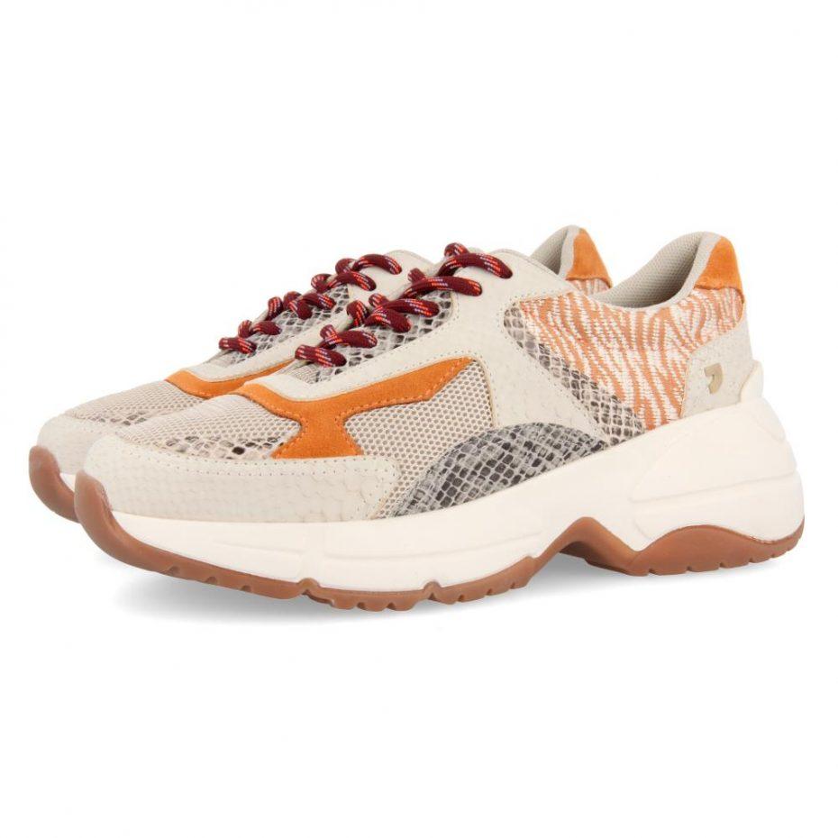 Zapatillas Sneakers Chunky Estampado Valderice de Gioseppo