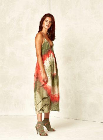 Vestido Largo Lazo Tie and Dye