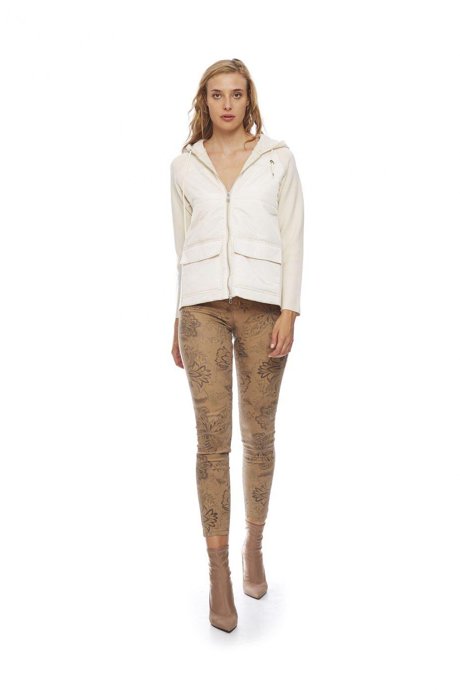 Pantalon estampado floral beige de VanDos