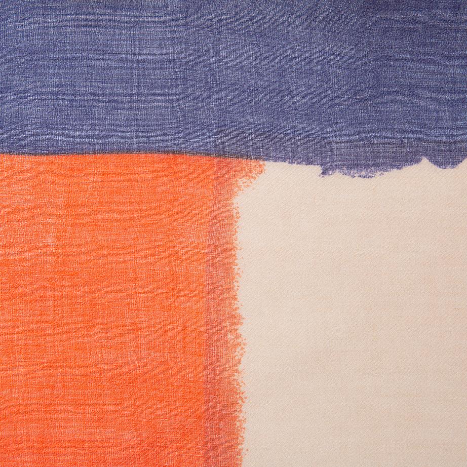 Fular Liso con Bordes en Color de Alibey
