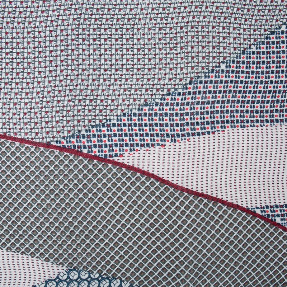 Fular estampado geométrico de Alibey