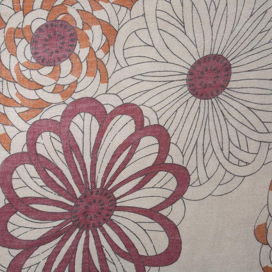 Fular Estampado Flores Grandes de Alibey