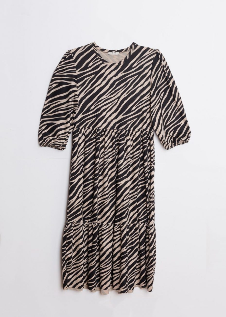 Vestido Largo Cebra de Calma Boutique