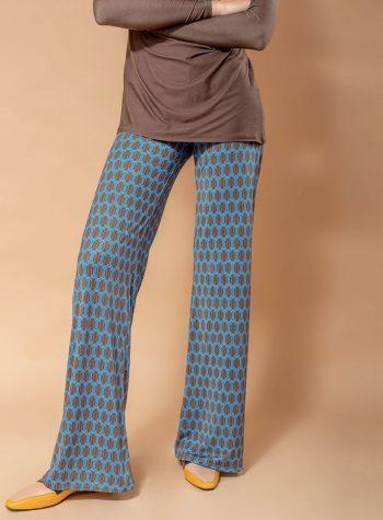 Pantalon Vera Lea Azul de Ehlea Mediteranean
