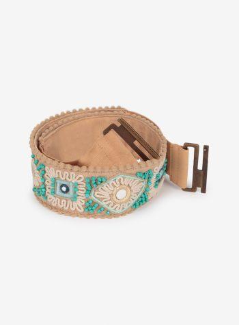 Cinturon Elastico con Cuentas Gianna de Nüd