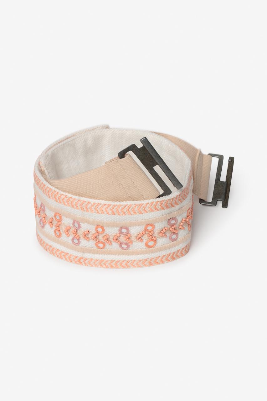 Cinturon Elastico con Cuentas Olivia de Nüd