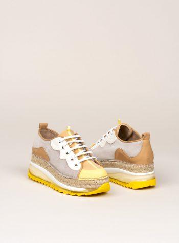 Sneaker Yute Vic Multi Amarillo