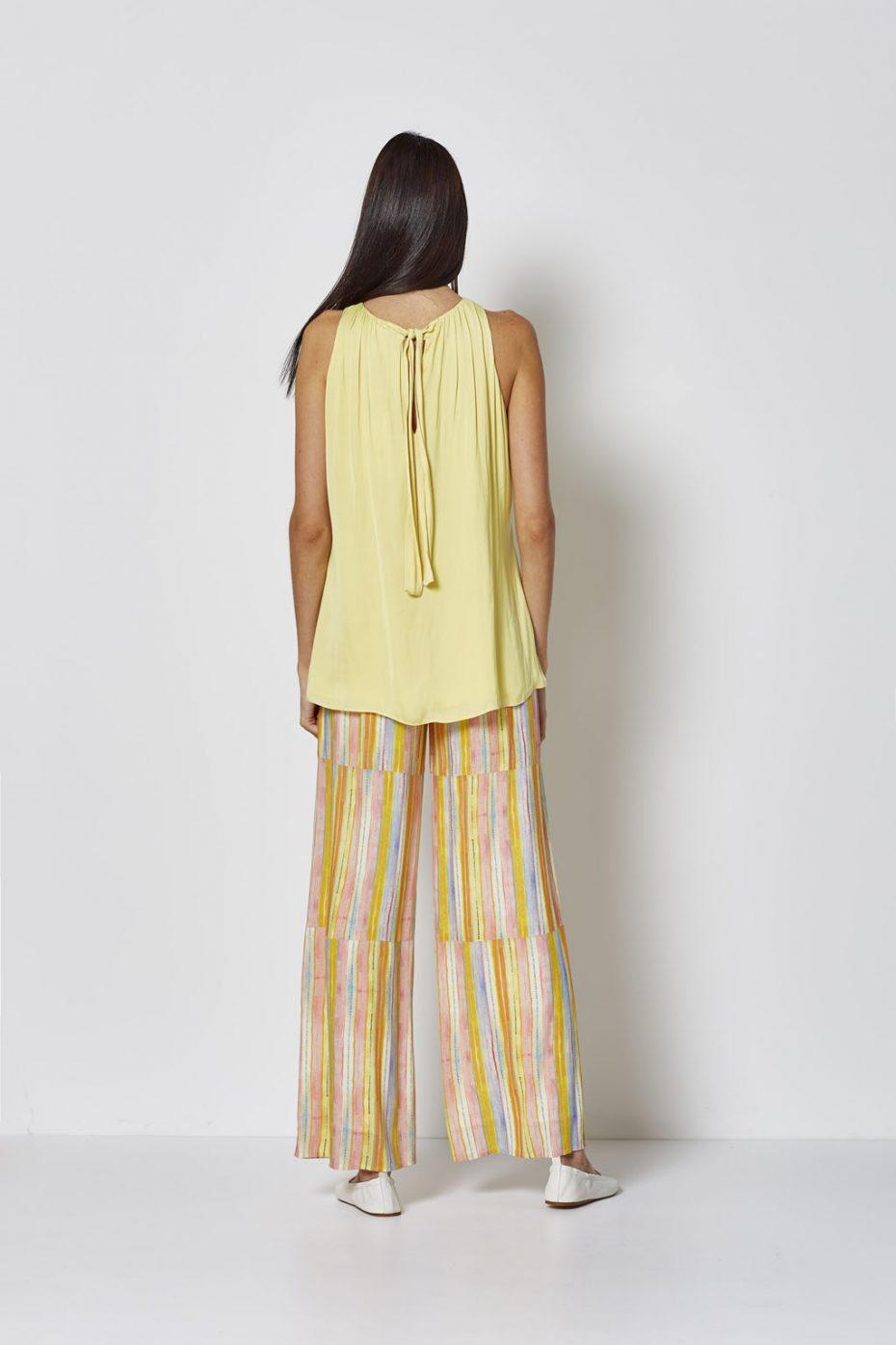 Pantalon Largo Rayas Pastel de Vandos