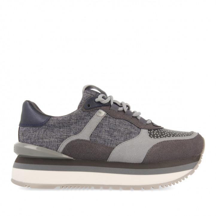 Sneakers Piso Doble Gris Klepp de Gioseppo
